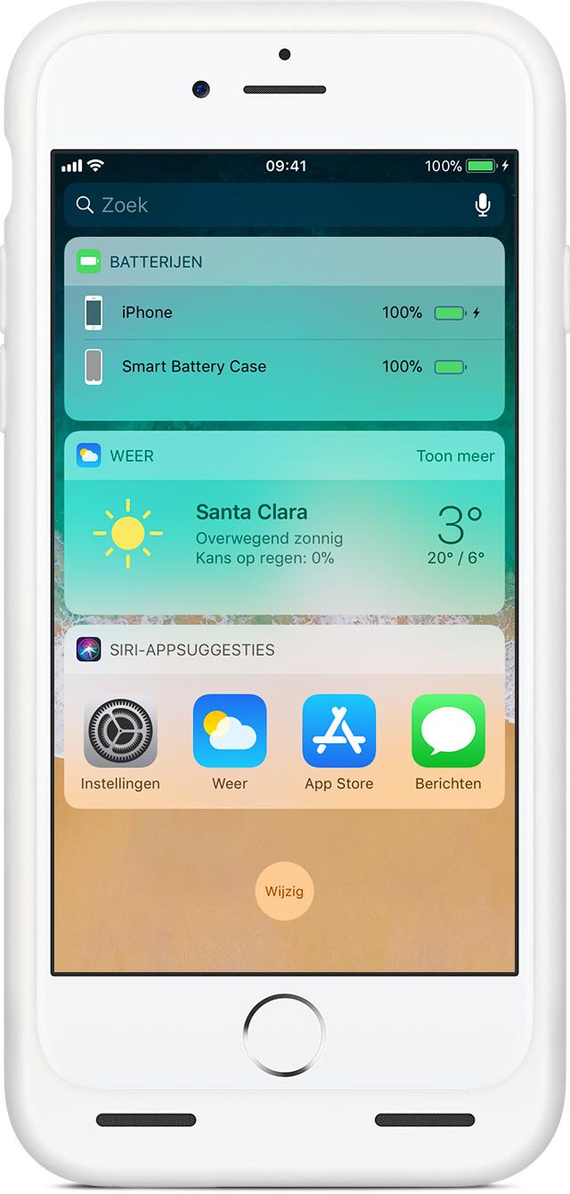 Iphone opladen zonder hoesje