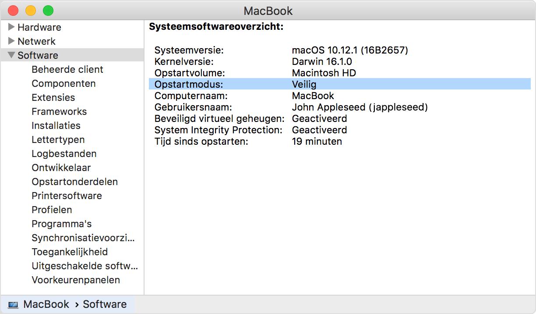 apple macbook loopt vast bij opstarten mac