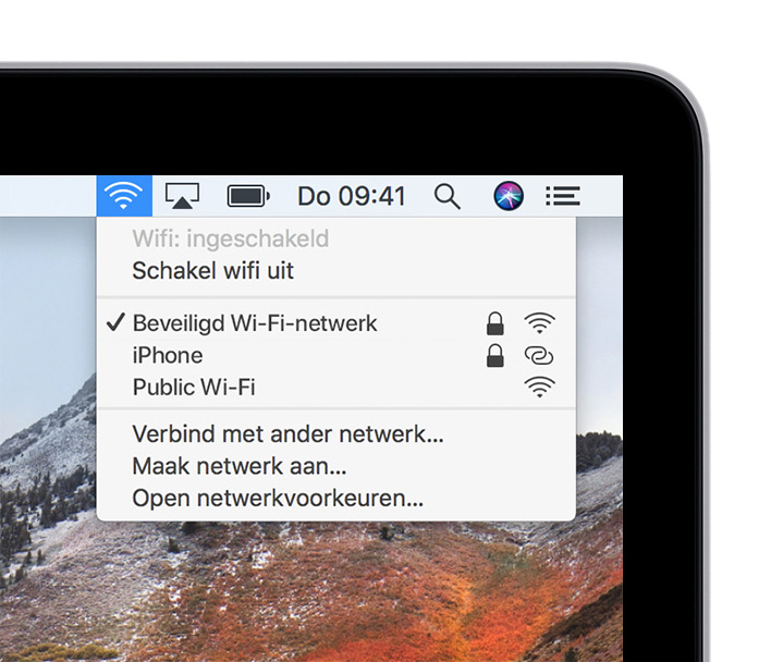 Op De Mac Verbinding Maken Met Internet Apple Support