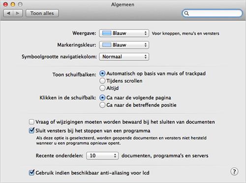 Basiskenmerken van de mac vensters wijzigen apple support for Agenda lantaren venster