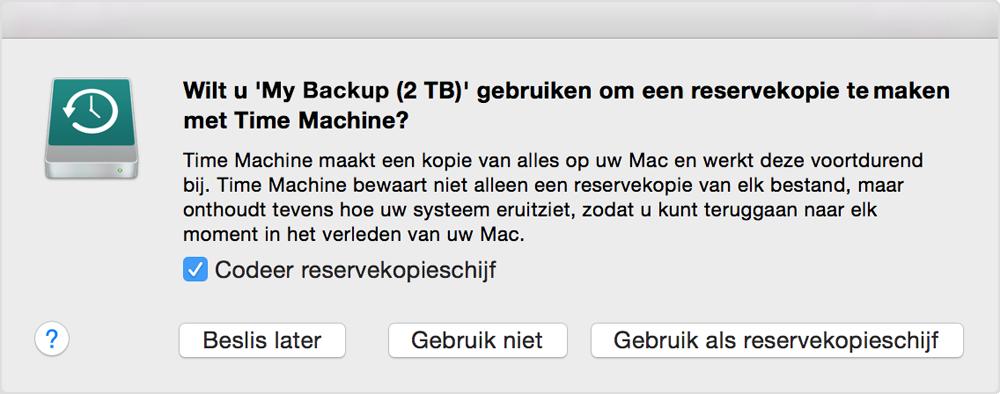 MacOS System Backup