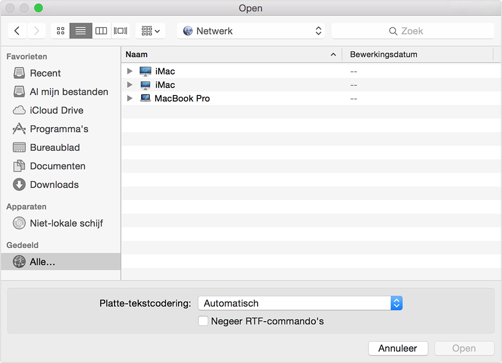 Verbinding Maken Met Bestandsdeling Op Een Mac Apple Support