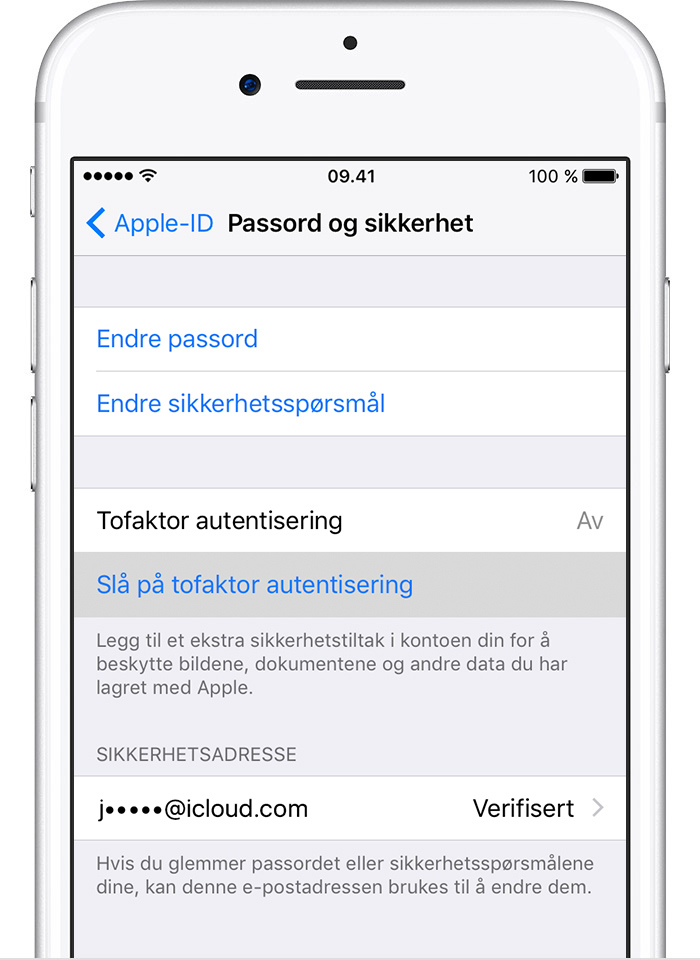multiple apple ids on iphone tofaktor autentisering for apple id apple kundest 248 tte 17821