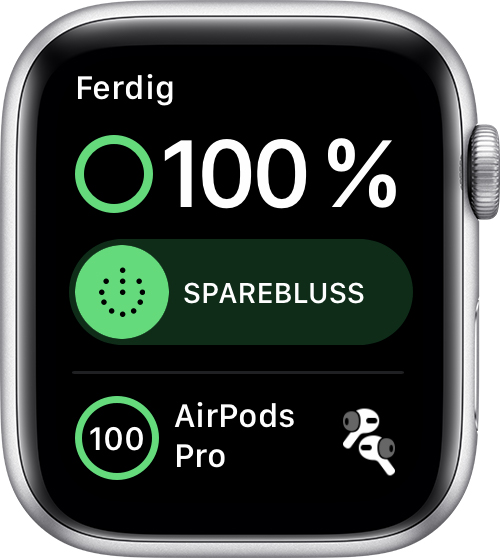 Sjekk batteriet og lad Apple Watch Apple kundestøtte