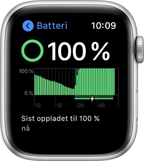Om optimalisert batterilading på iPhone Apple kundestøtte