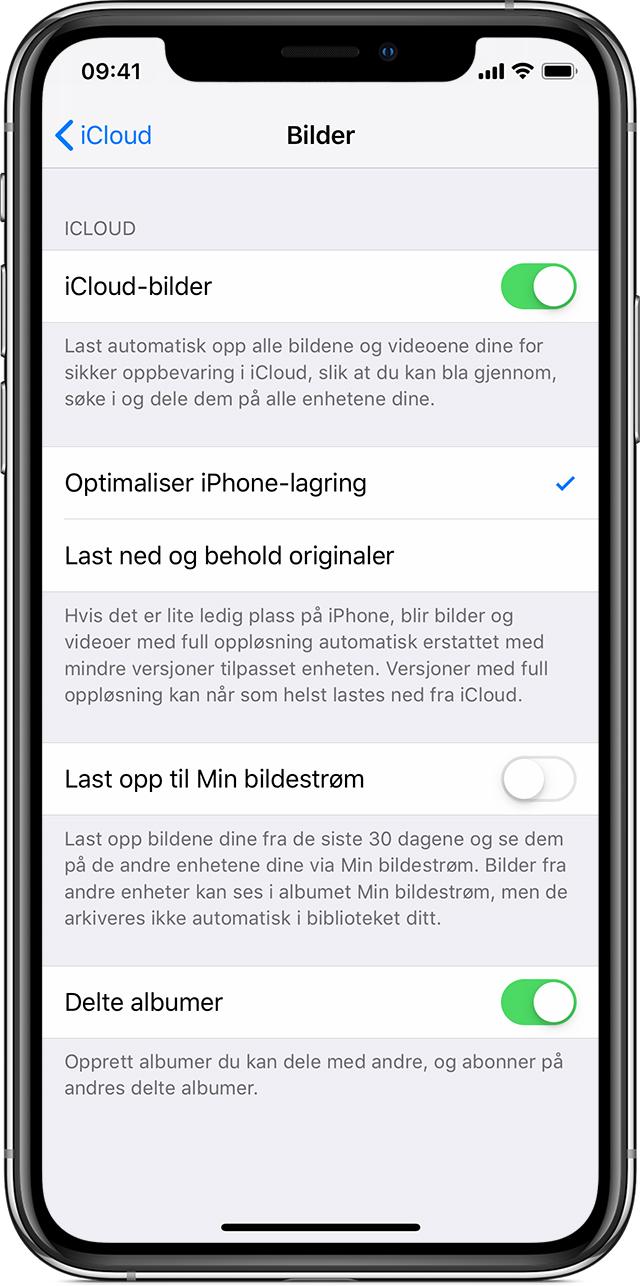 2701ad452516 Få hjelp med manglende bilder - Apple-kundestøtte