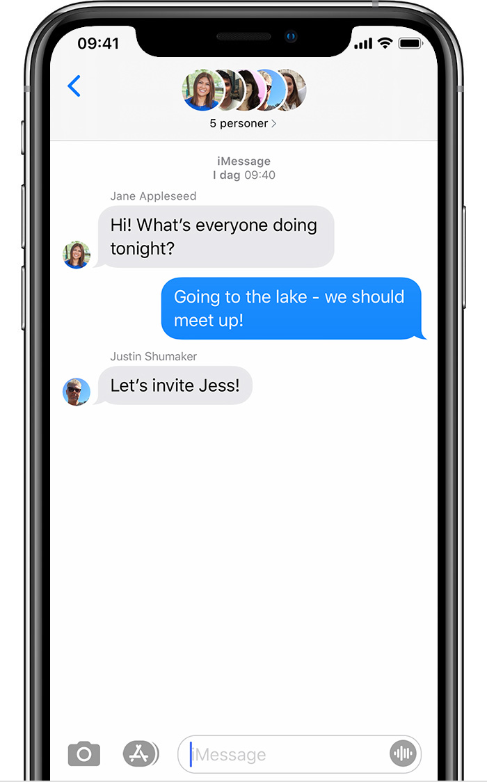 Send a group message on your iPhone, iPad, or iPod touch