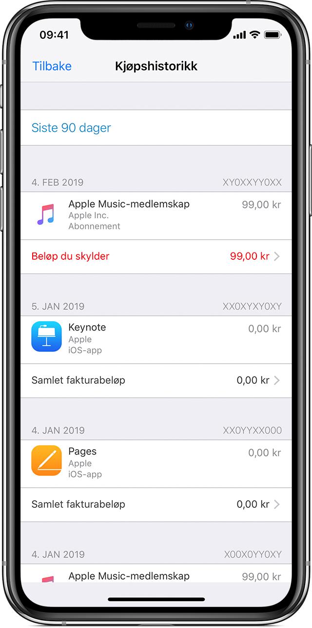 b6d567d1 Når du har kjøpt innhold fra App Store, iTunes Store, eller du har foretatt  andre digitale kjøp med Apple-ID-en din, kan du laste ned kjøpene dine på  nytt ...