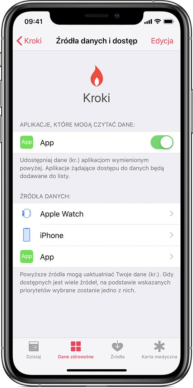 Zarzadzanie Danymi Aplikacji Zdrowie Na Telefonie Iphone Ipodzie