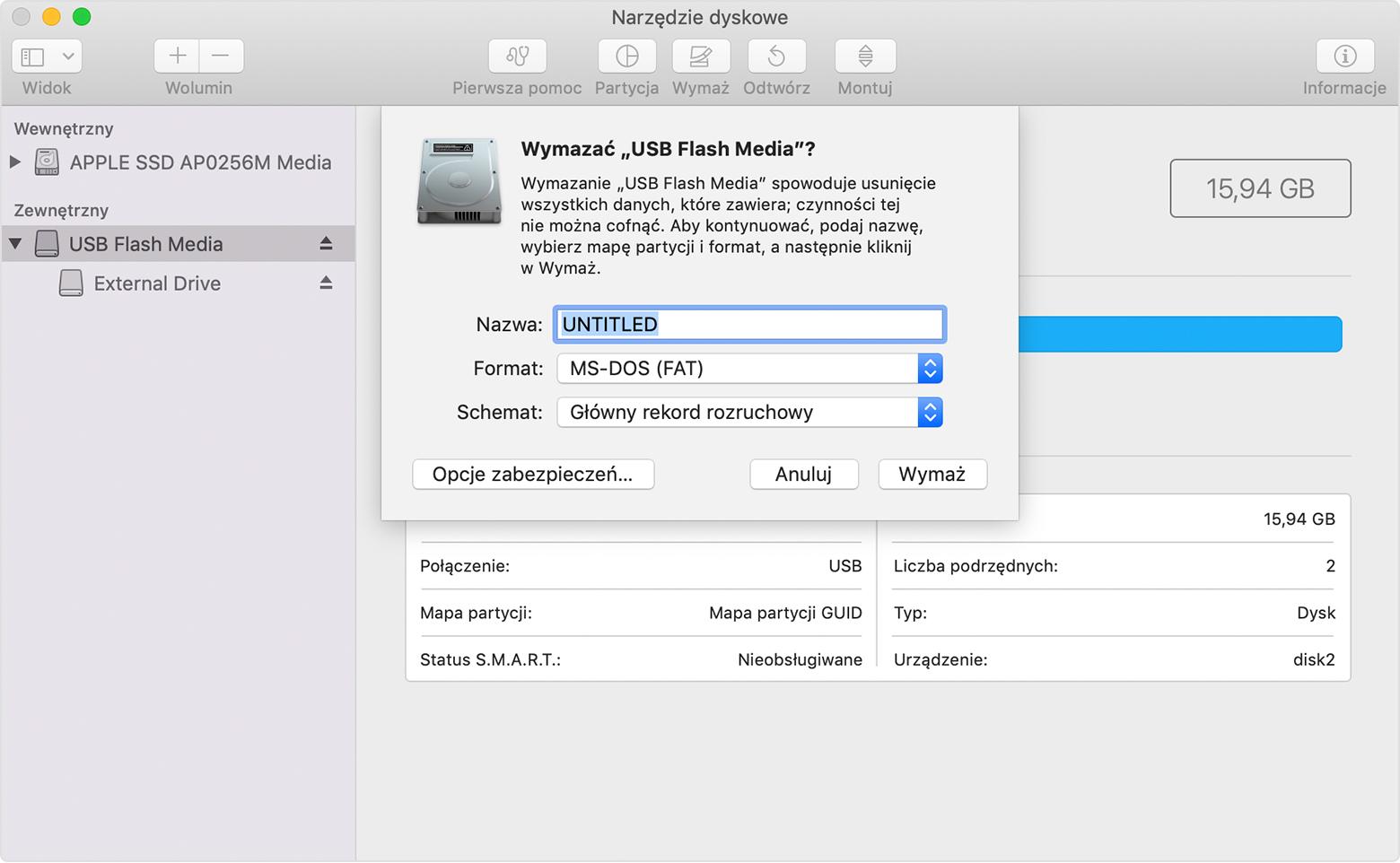 Create mojave boot disk