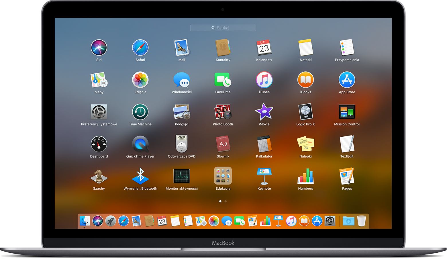 Launchpad w systemie macOS