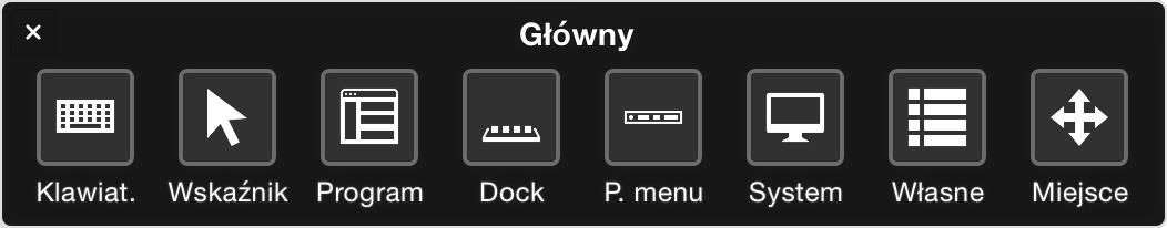 Obsługa Komputera Mac Przy Użyciu Funkcji Sterowanie