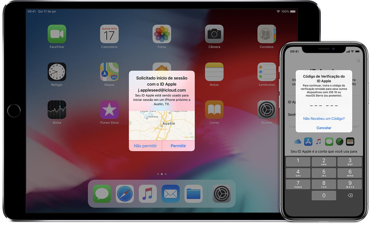 Autenticação de dois fatores do ID Apple - Suporte da Apple 66672a26b2