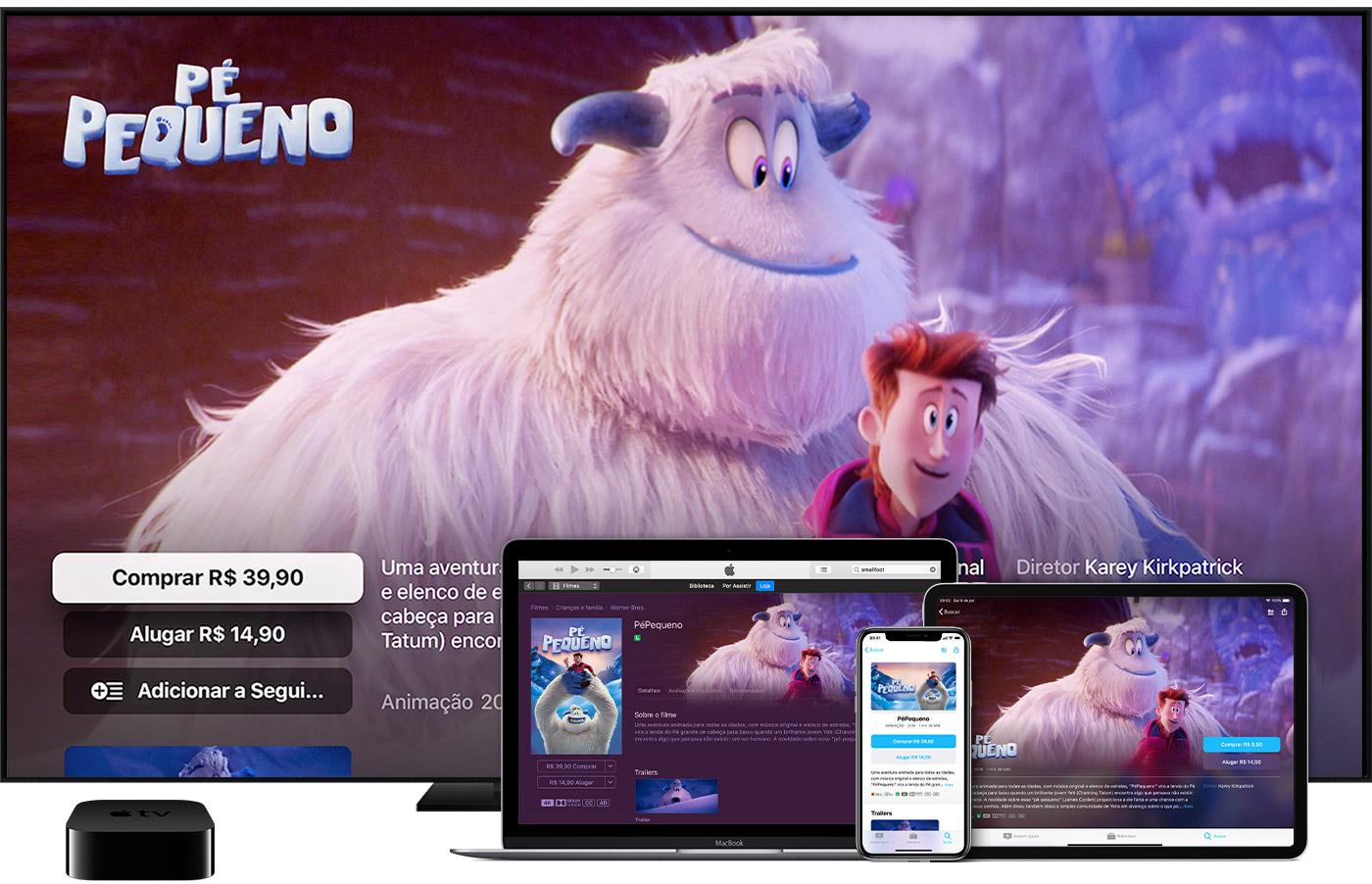 Alugar filmes no app Apple TV - Suporte da Apple