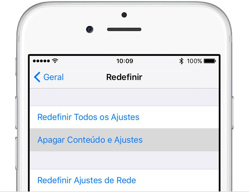Finalizar sessao icloud no iphone