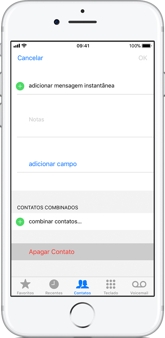 how to delete a contact on iphone gerenciar e apagar contatos no iphone ou ipod touch 19947