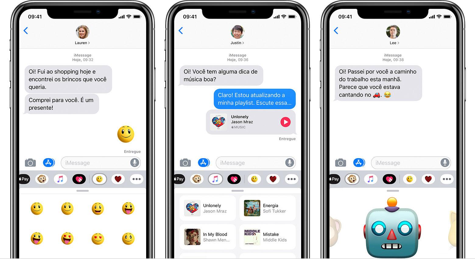 Usar os apps do iMessage no iPhone, iPad e iPod touch - Suporte da Apple f6bdc64bab