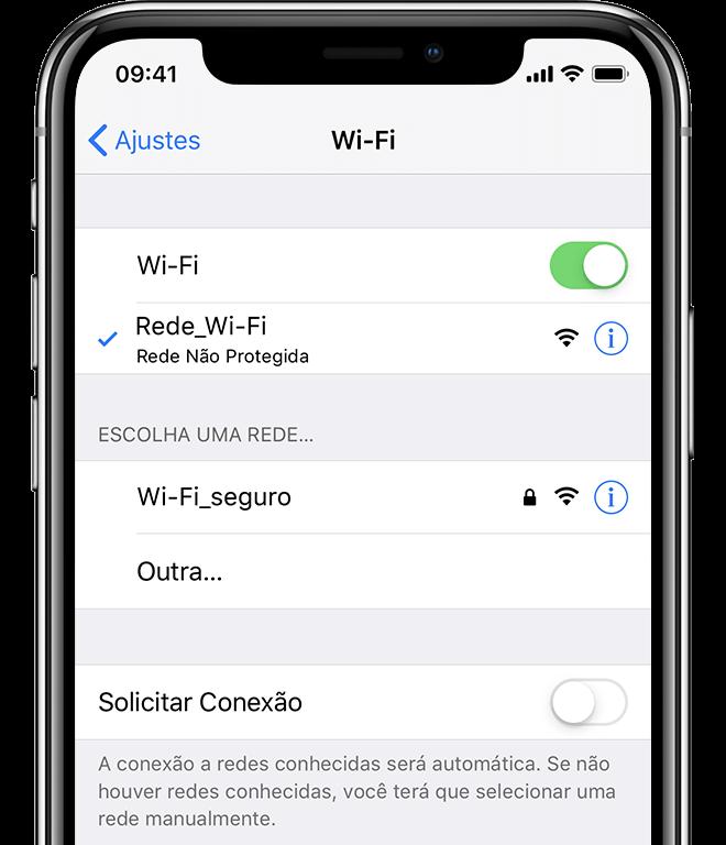 como descobrir a senha wifi iphone