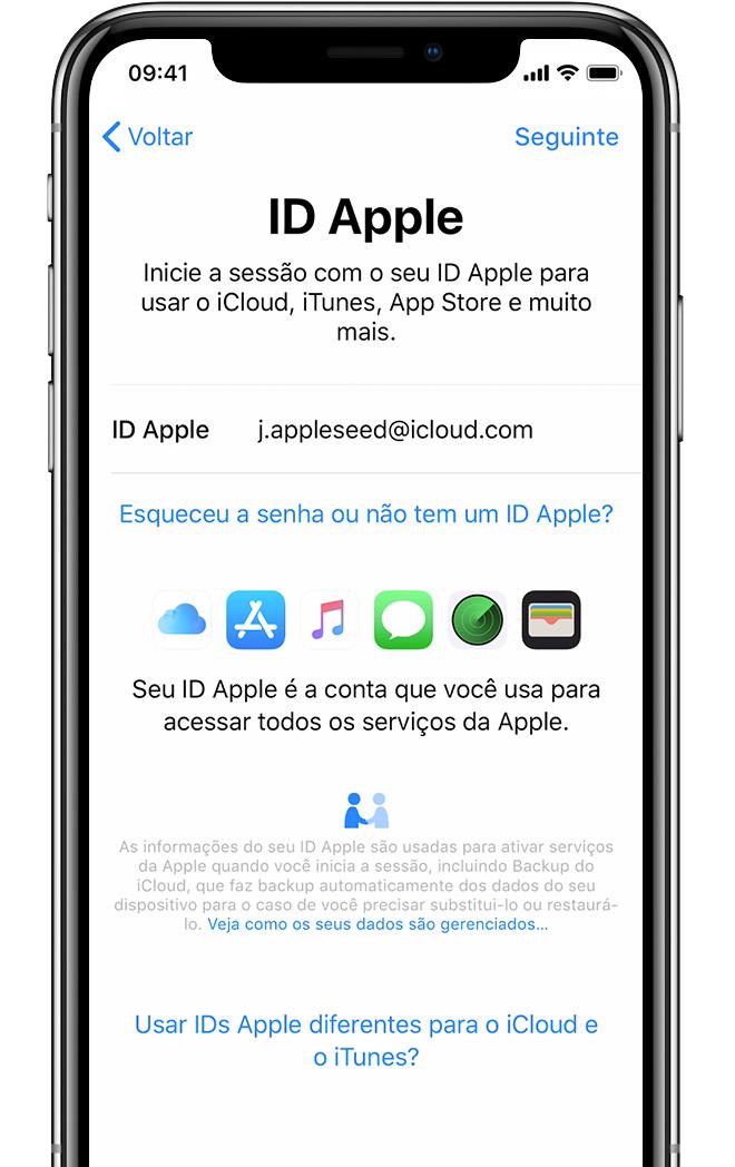Configurar o iPhone, iPad ou iPod touch - Suporte da Apple 99e3f35a5e