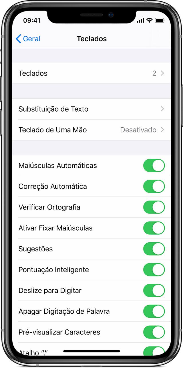 Sobre Os Ajustes De Teclados No Iphone Ipad E Ipod Touch