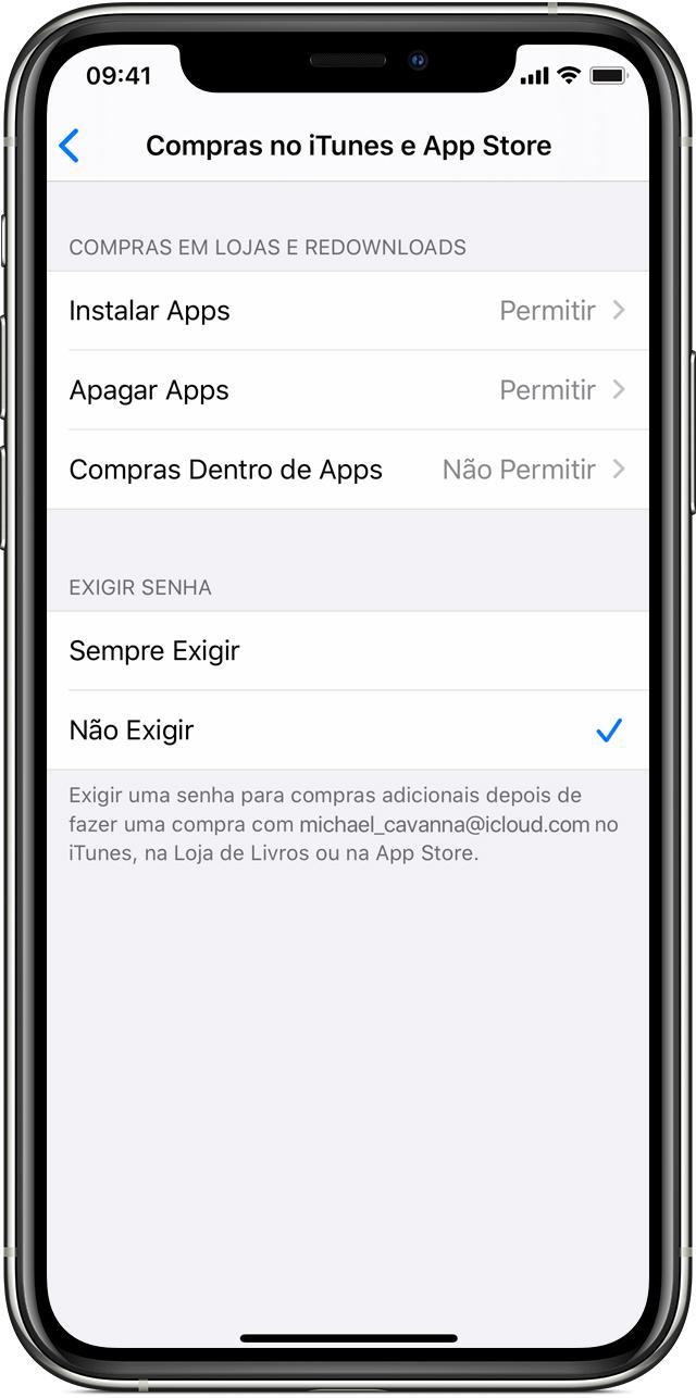 Usar os controles parentais no iPhone, iPad e iPod touch de seu filho -  Suporte da Apple