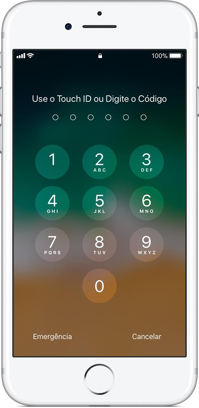 cambiar codigo desbloqueo iphone 6s
