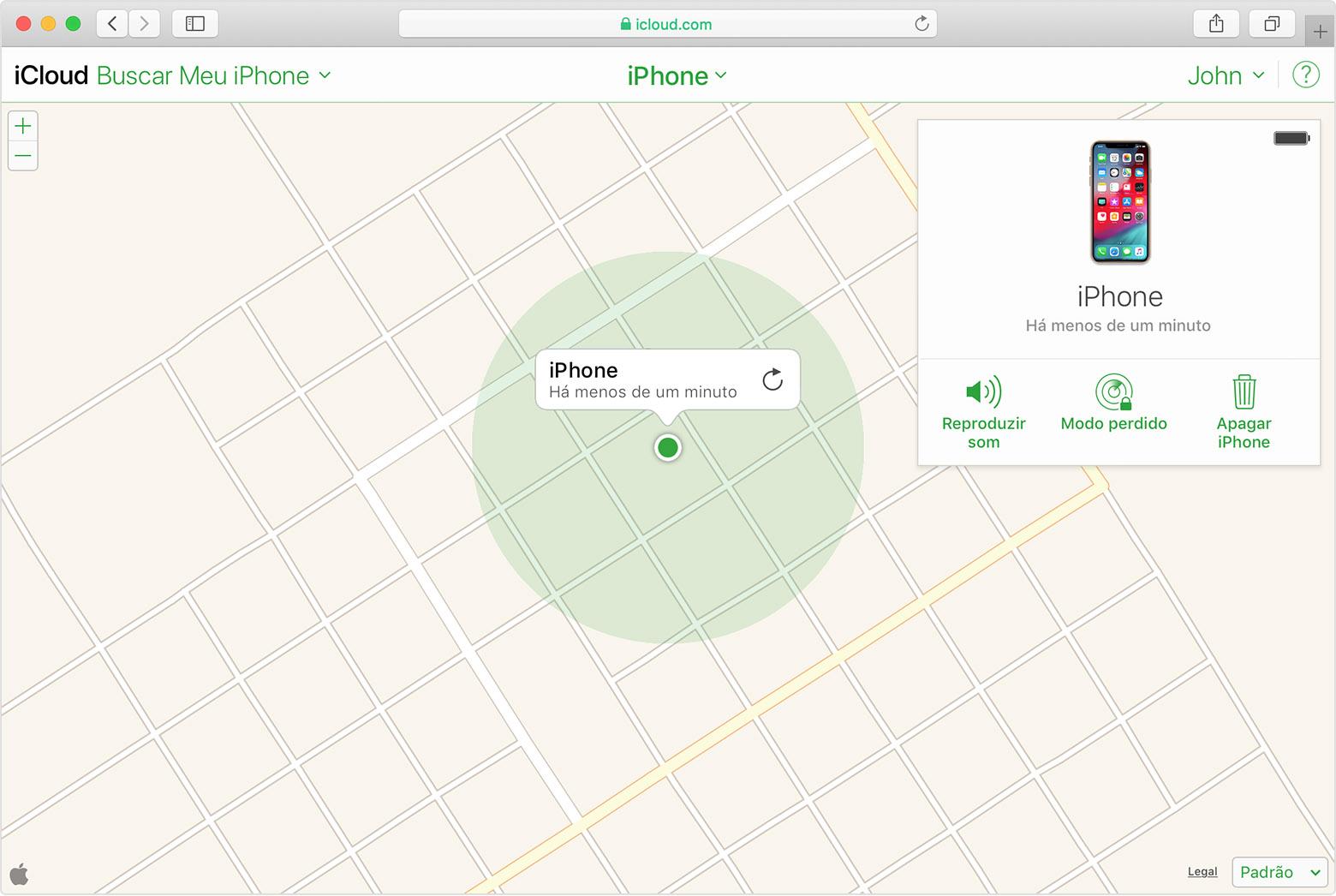 como rastrear iphone X pelo gps