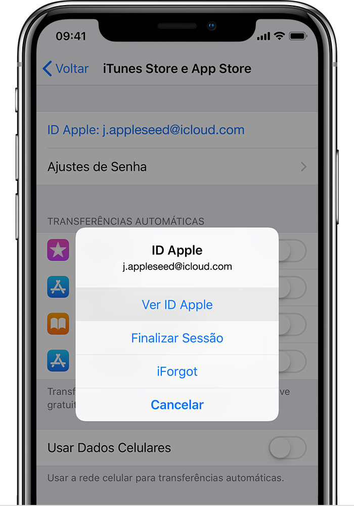 recuperare password email di iphone