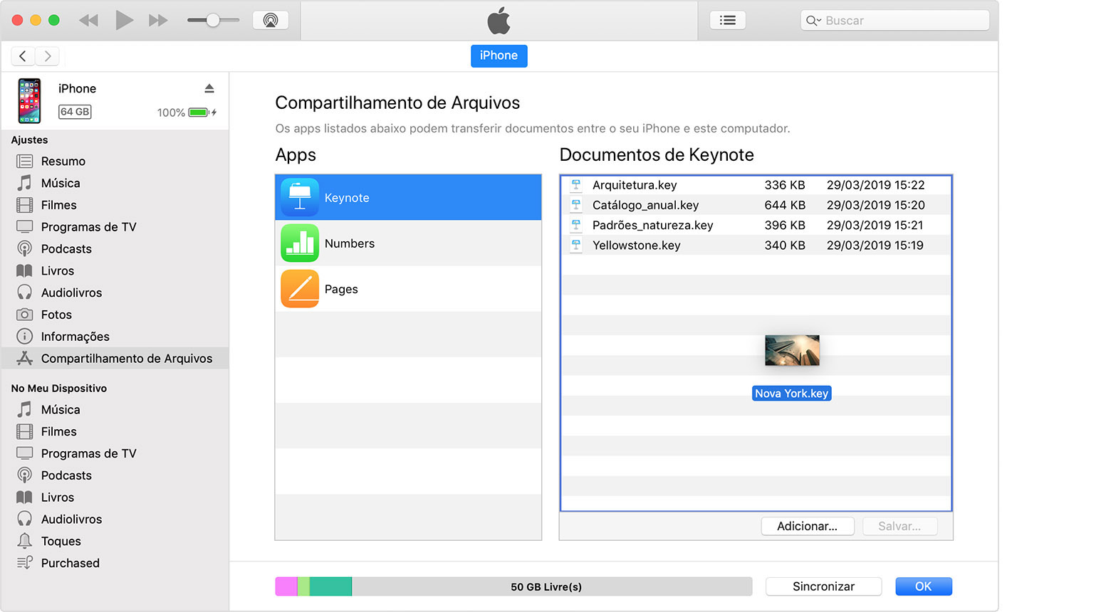 Transfiere música, videos, fotos, contactos y otros archivos entre dispositivos iOS, el PC y iTunes