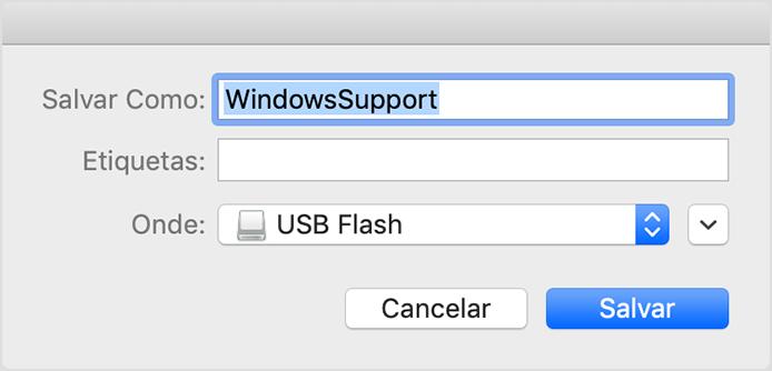 Fazer download e instalar o software de suporte do Windows
