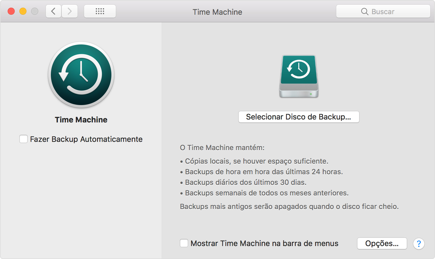 Como usar o time machine para fazer backup ou restaurar o mac configurar o time machine fandeluxe Choice Image