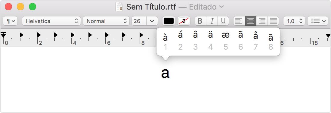 Mapa De Caracteres Mac.Como Usar Emojis Acentos E Simbolos No Mac Suporte Da Apple