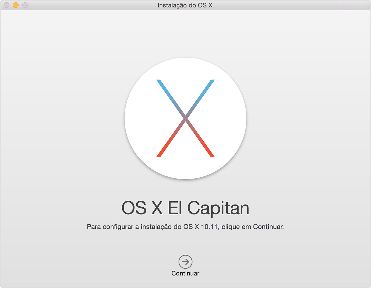 Como fazer download do os x el capitan suporte da apple tela do instalador ccuart