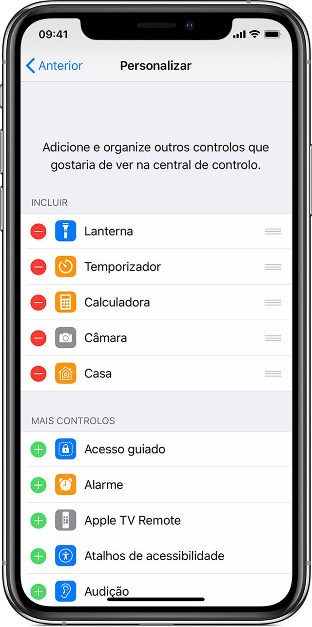 4818a7b733c6c Toque na parte superior do ecrã ou prima o botão principal. No iPhone X ou  posterior, passe o dedo para cima a partir da parte inferior do ecrã ou  toque no ...