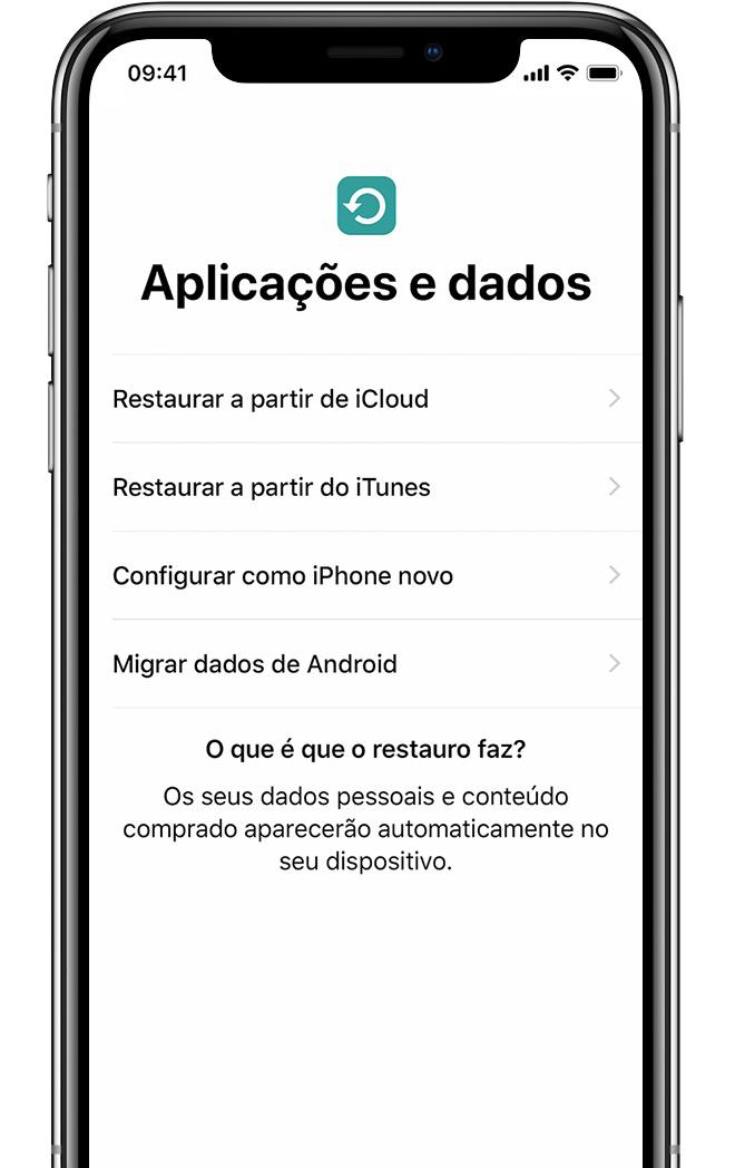 11d31300ea5 Configurar o iPhone, iPad ou iPod touch - Suporte Apple