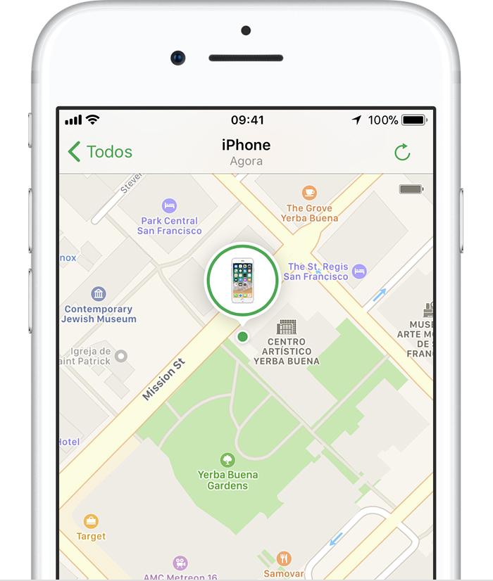 Se o iphone ipad ou ipod touch for perdido ou roubado suporte apple ccuart Images