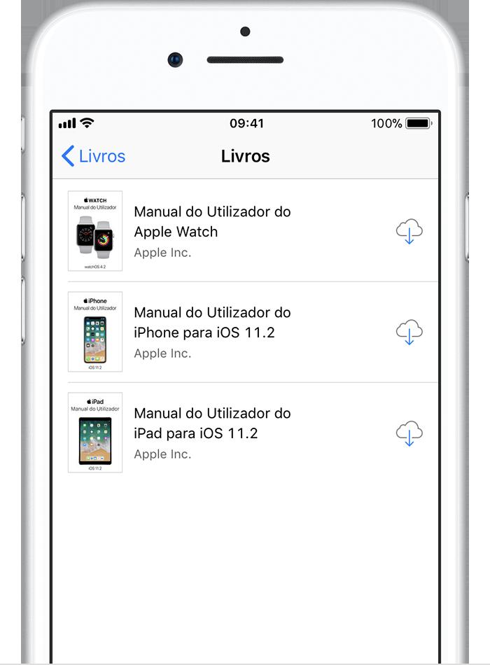 voltar a descarregar apps m sicas filmes programas de tv e livros rh support apple com manual to iphone 6s manual to iphone se