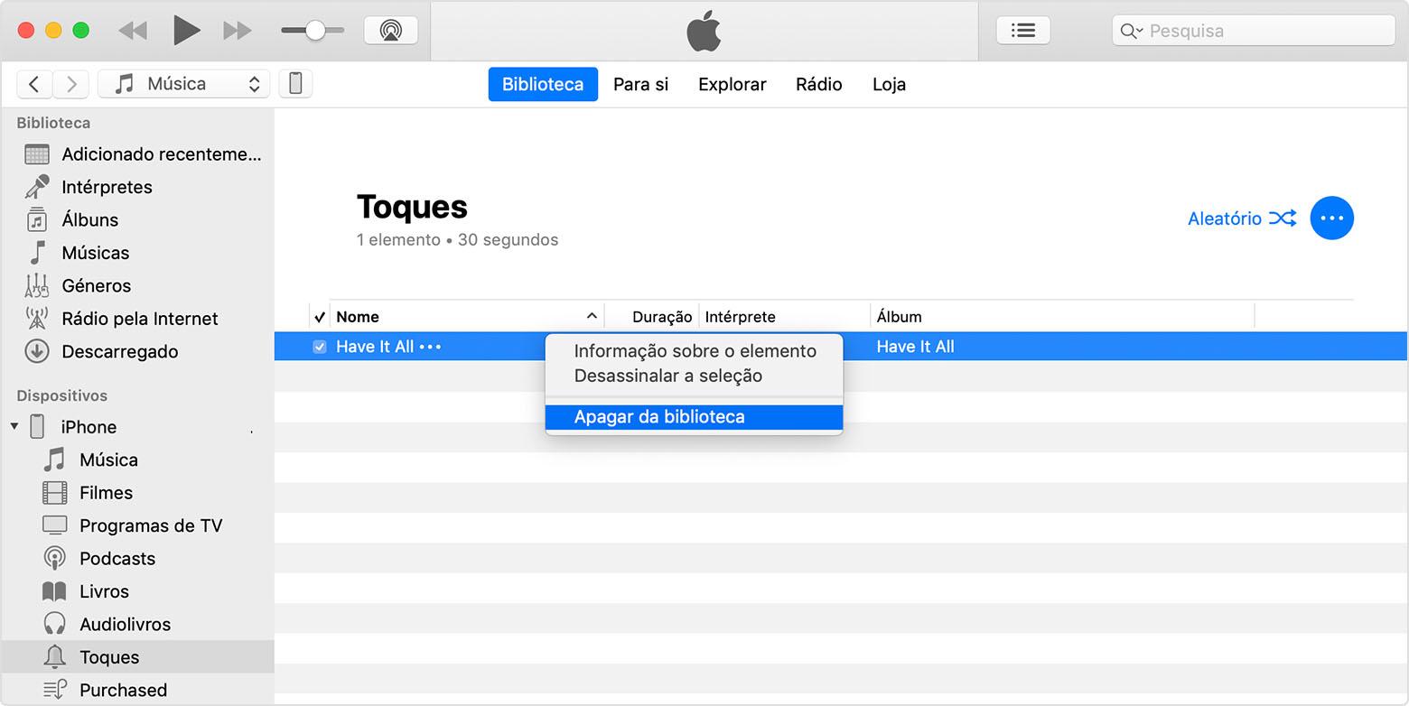 177dfeb96ff Utilizar sons e toques com o iPhone, iPad ou iPod touch - Suporte Apple