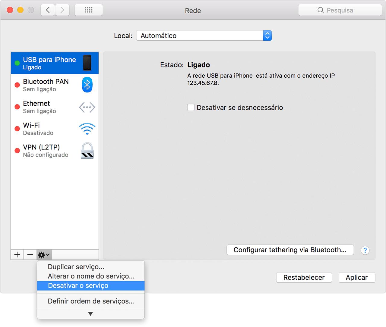 Se o Hotspot pessoal não estiver a funcionar no iPhone ou