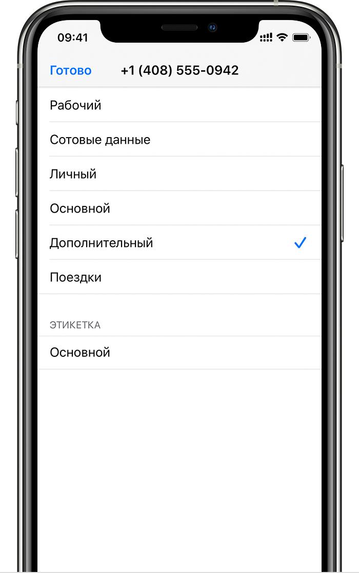 этикетки iphone