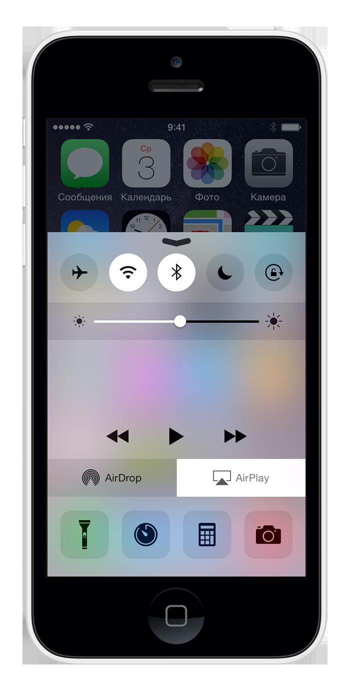 Что такое AirPlay или как вывести картинку с iPhone на штатный монитор