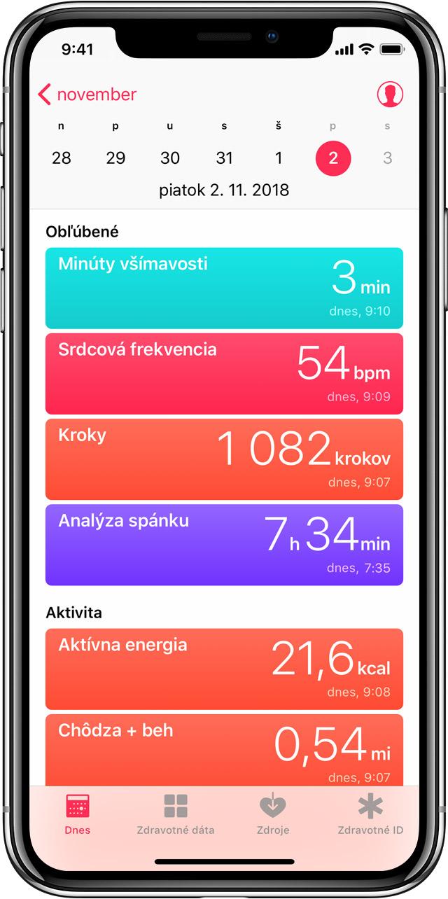 Pouzivanie Aplikacie Zdravie V Iphone Alebo Ipode Touch Apple Support