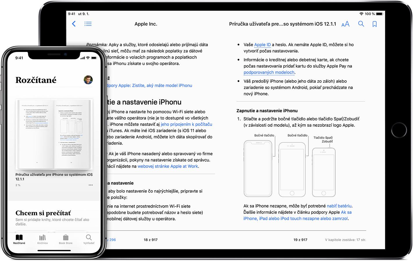 Čítanie kníh a ďalšie možnosti v aplikácii Knihy v iPhone 0ecdd114ad3