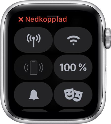 Om Apple Watch inte är ansluten eller parkopplad till din iPhone ... 67bce1ced87da