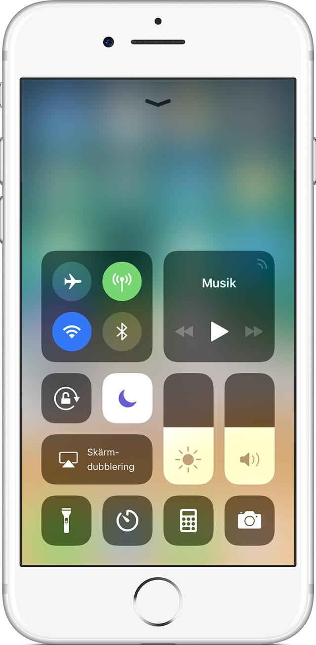 stänga av iphone utan touch