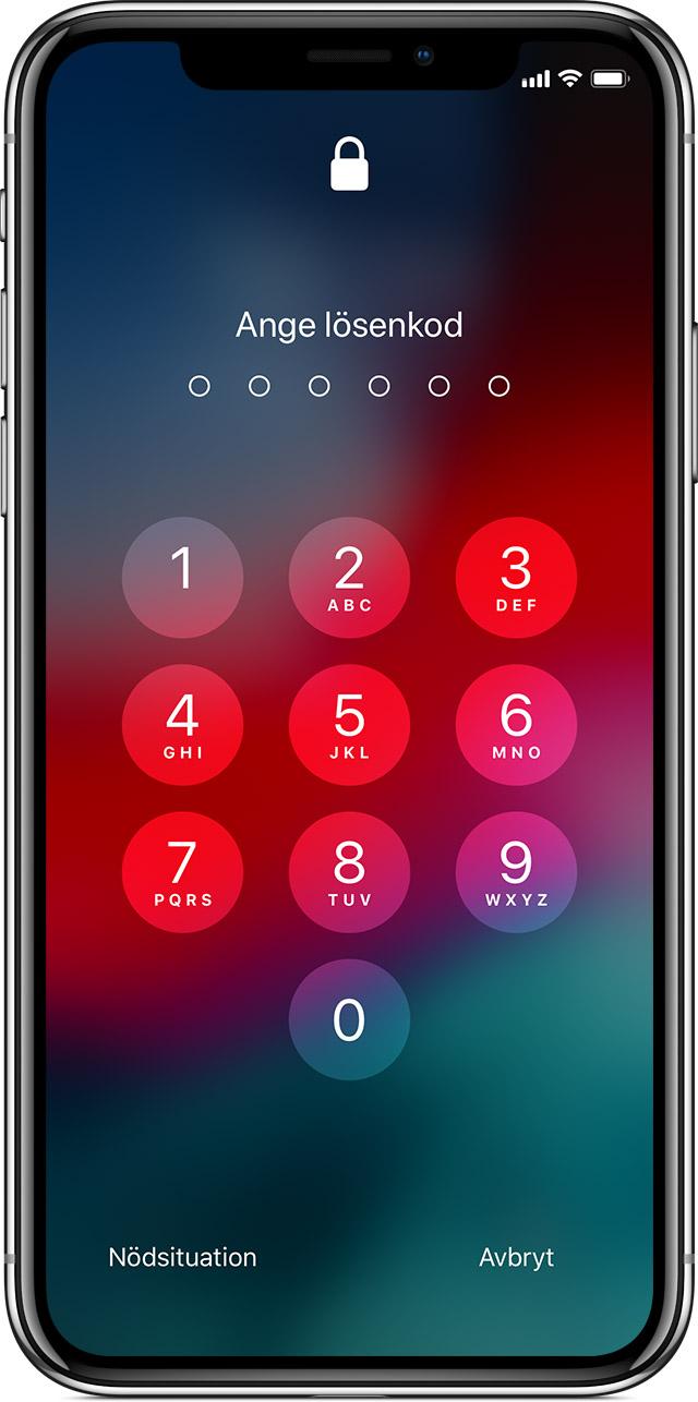 Stänga av aktiveringslåset till Hitta min iPhone - Apple-support b5b96d7efa888