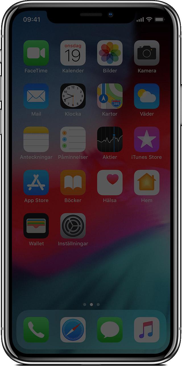 Spräckt Skärm Iphone X