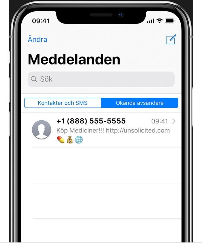 Blockera Nummer Iphone 7