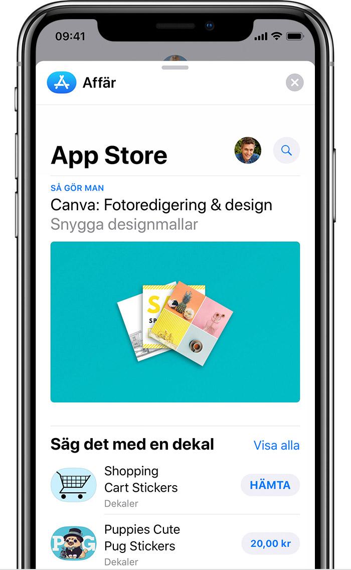 köp inuti appar iphone