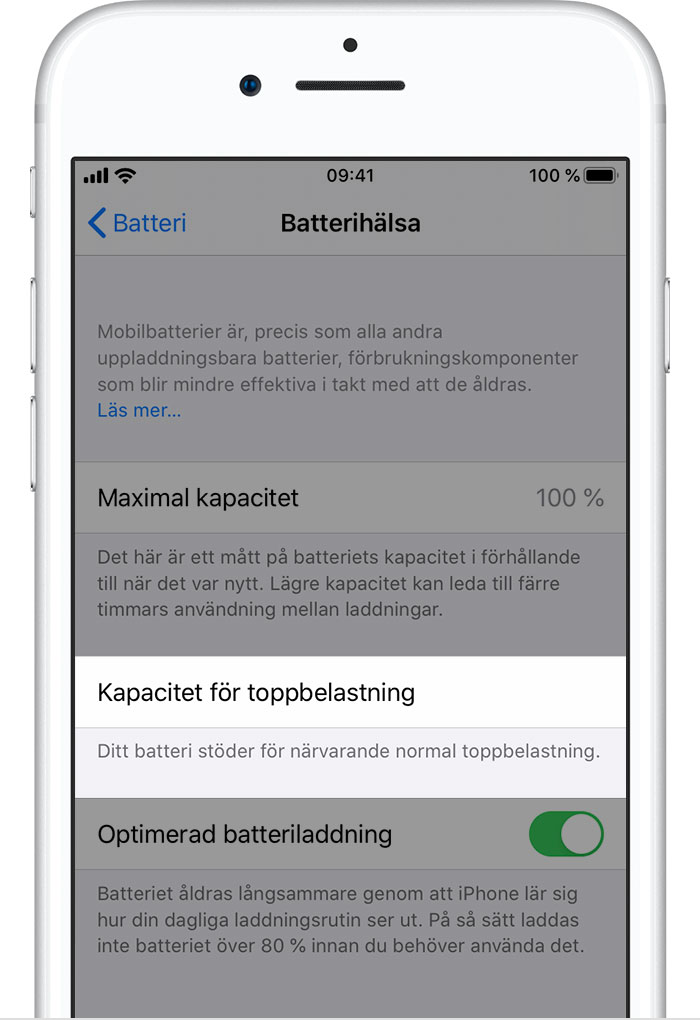 Apple iPhone SE Batteri & Laddare
